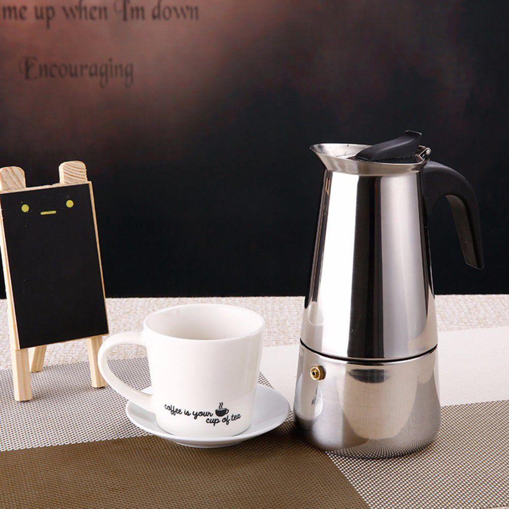 Bình pha cafe moka bialetti Cách pha cafe espresso ngon không dùng máy