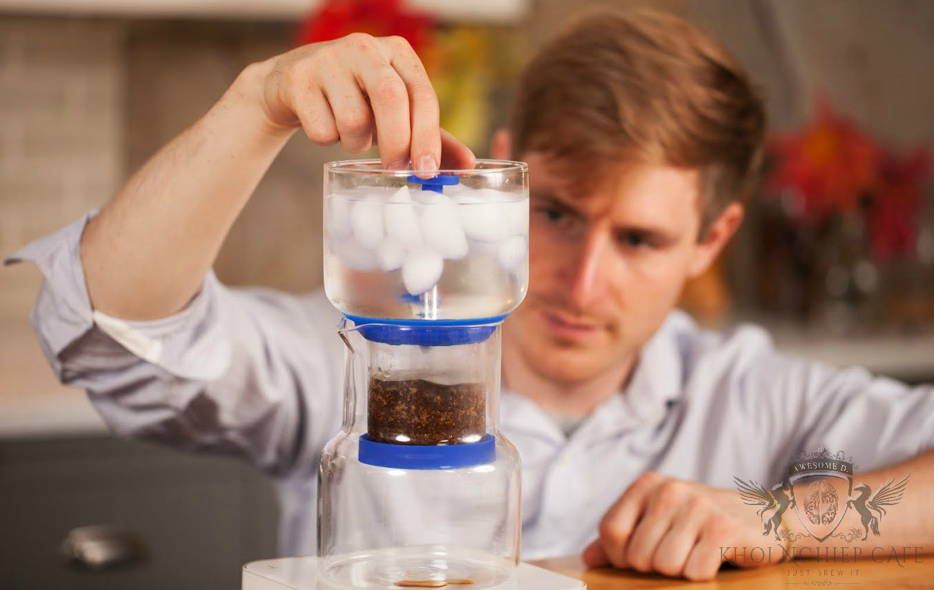 Cách pha Cold Brew Coffee ngon - Bình pha cafe lạnh cold brew