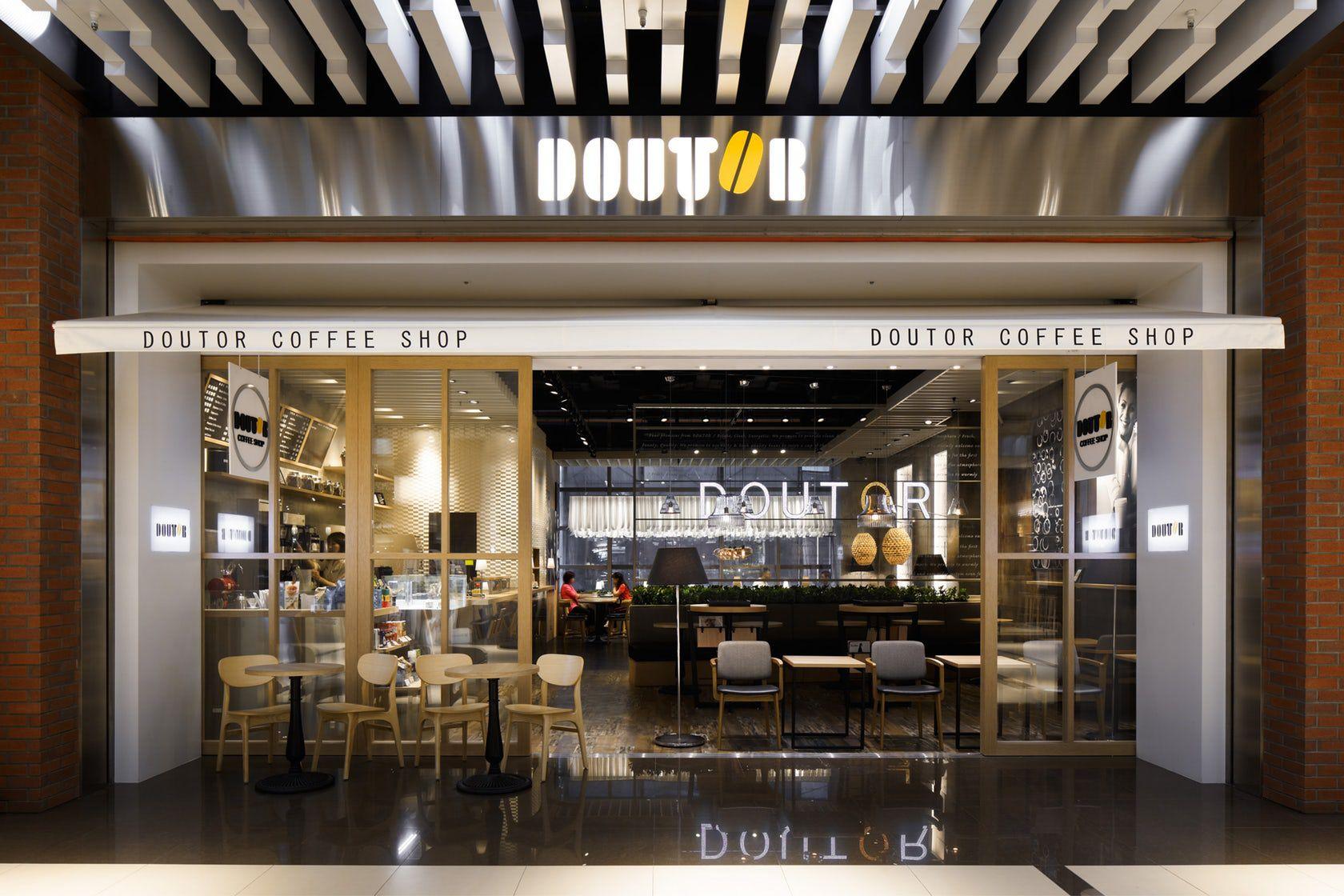 DOUTOR COFFEE SHOP - quan cafe hien dai o taiwan 2018