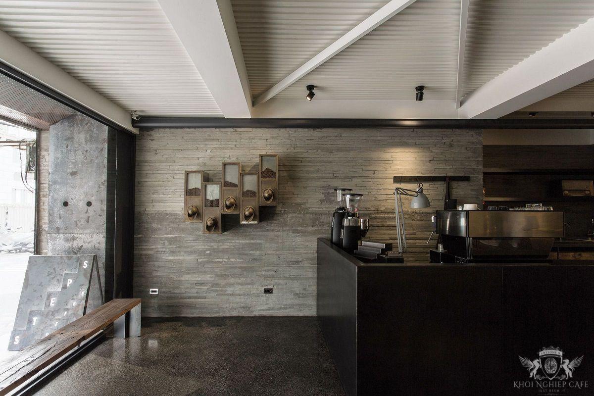 STEPS coffee - mau thiet ke quan cafe espresso dep hien dai 2018 (12)