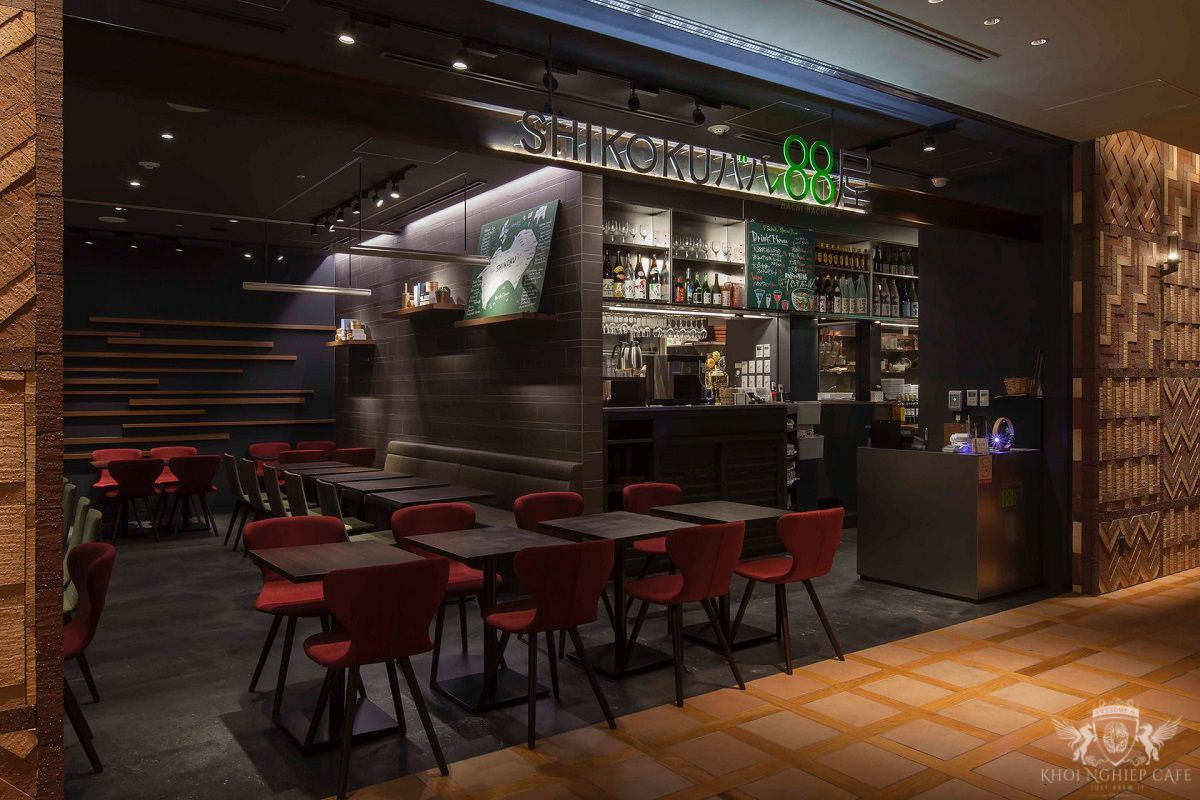 Shikoku Bar 88 Phong cach quan cafe dep cua nguoi Nhat Ban 2018 (6)