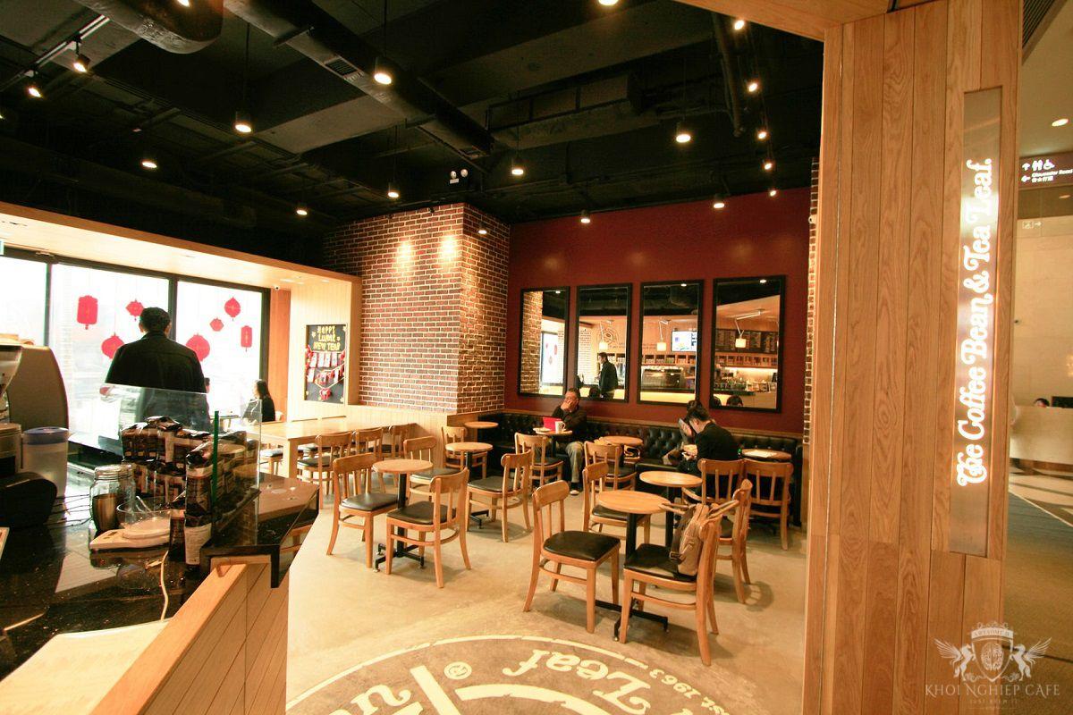 The Coffee Bean 7 Tea Leaf Hong Kong 2 thiet ke quan cafe espresso dep 2018 (7)