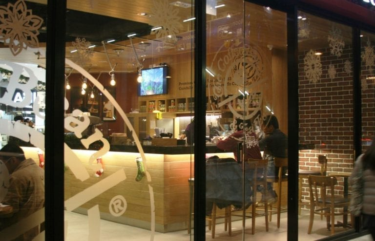 The Coffee Bean & Tea Leaf  – Wanchai, Hong Kong