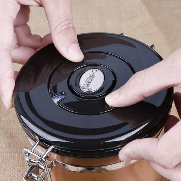 hũ đựng cafe degas coffee bean degas container