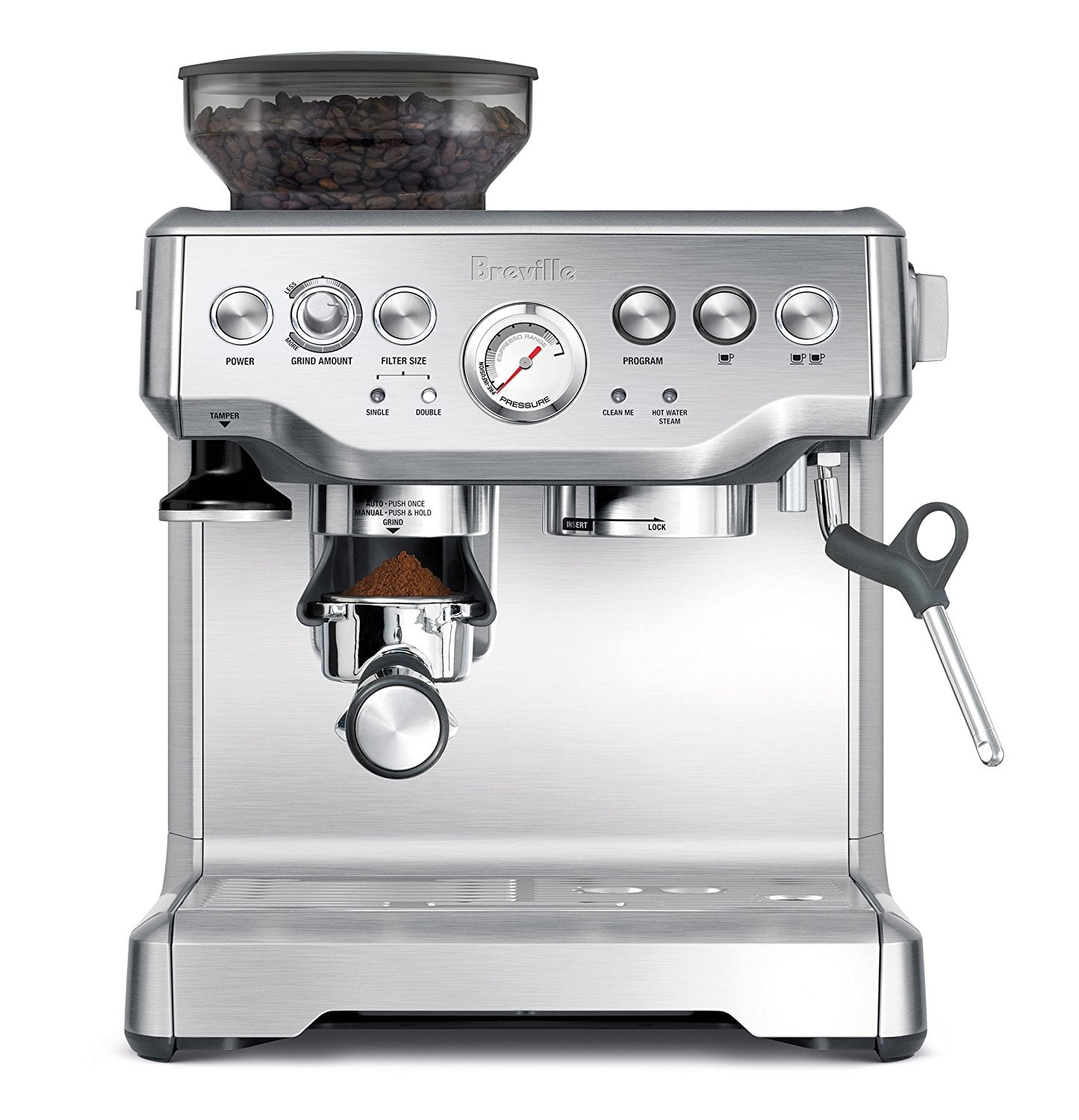 may pha ca phe espresso breville bes870 xl
