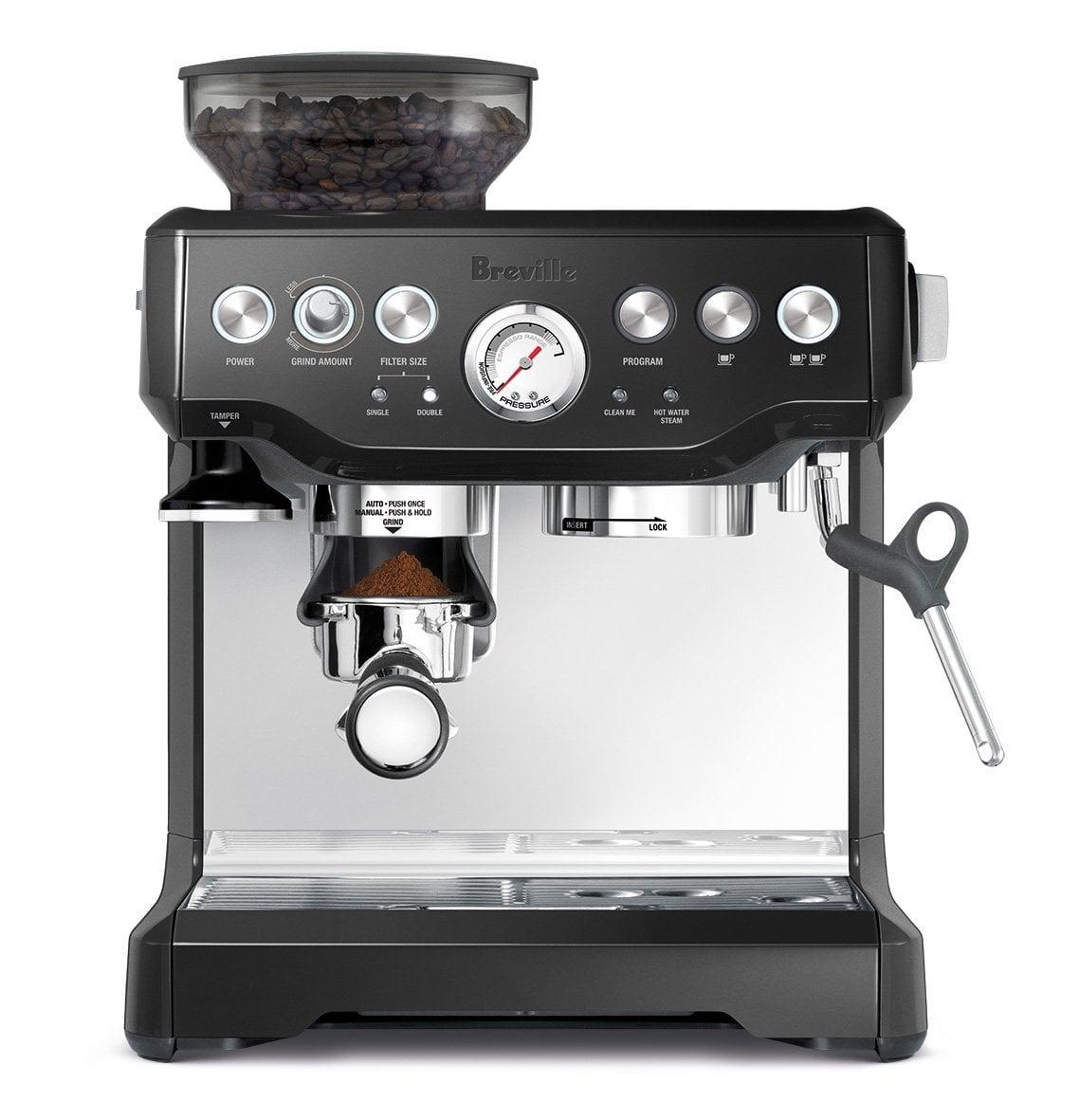 may pha cafe espresso breville 870xl mau den