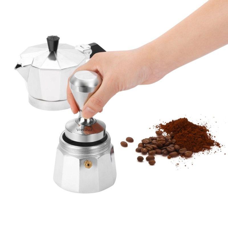 mua ban Tamper nen cafe espresso inox 51mm 600g 13