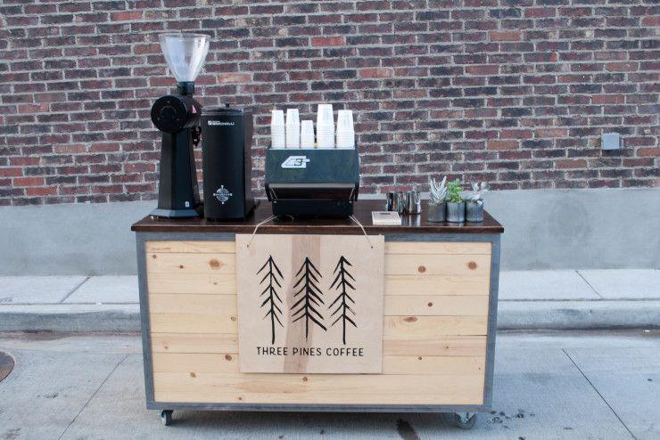 xe cafe , mở quán cafe espresso