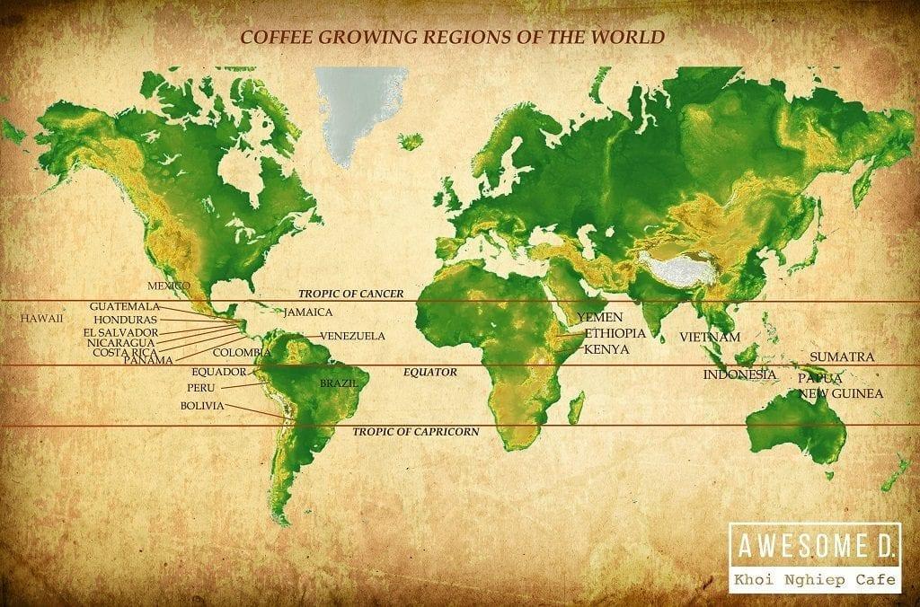 z[khoinghiepcafe.com] Bản đồ cafe thế giới