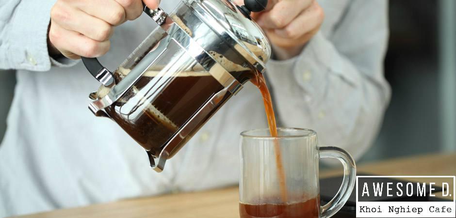 z[khoinghiepcafe.com] Pha cà phê bằng bình French Press 7