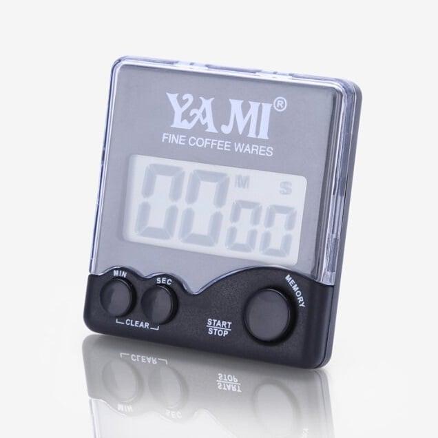 Đồng hồ điện tử Yami đồng hồ bấm giờ điện tử đồng hồ pha cà phê đồng hồ điện tử nhà bếp dụng cụ pha cafe dụng cụ barista