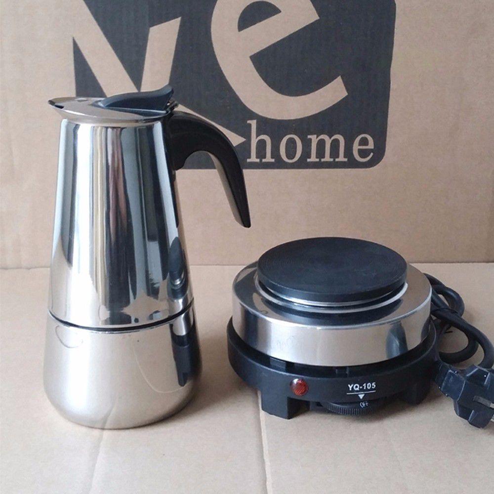Bình pha cà phê moka bialetti Cách pha cà phê espresso ngon