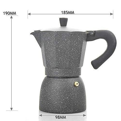 Bình pha cafe Moka Alumium 300 ml phiên bản màu sắc giới hạn viet nam