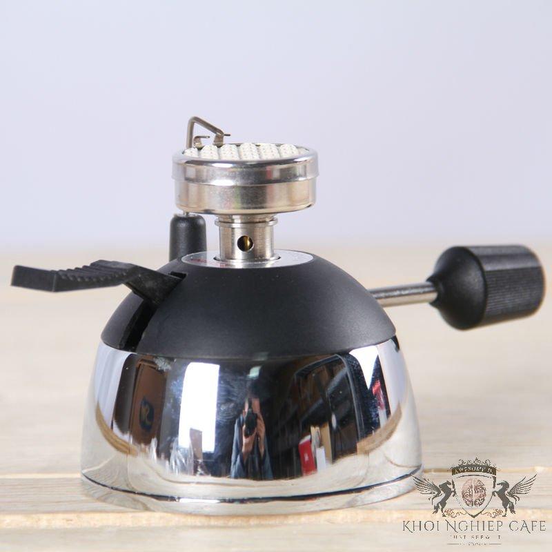 Bếp ga mini pha cafe syphon tiamo