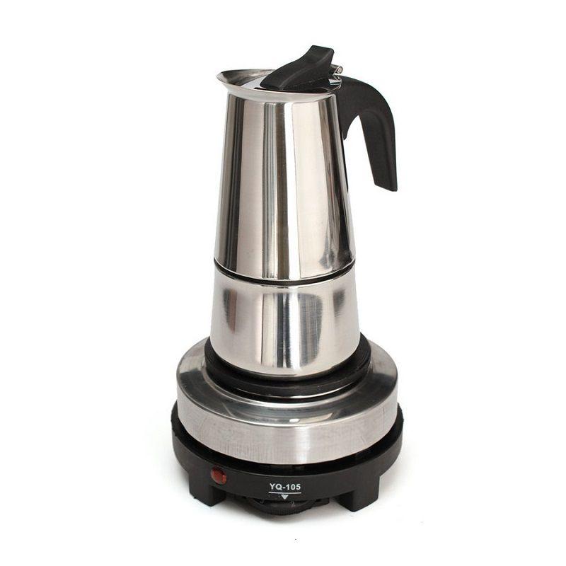 Bep dien mini dung am pha cafe espresso moka bialetti 6