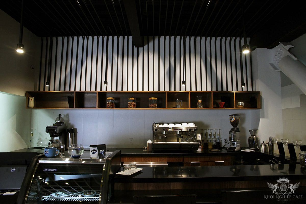 Blue coffee bar - mau thiet ke quan cafe espresso dep 2018 (4)