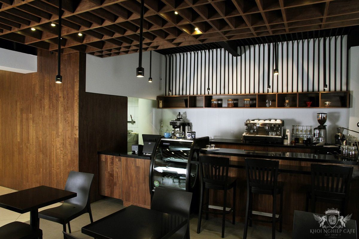Blue coffee bar - mau thiet ke quan cafe espresso dep 2018 (5)