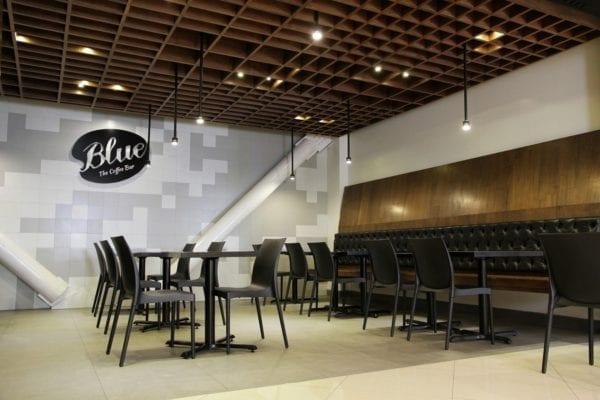 Blue coffee bar - mau thiet ke quan cafe espresso dep 2018