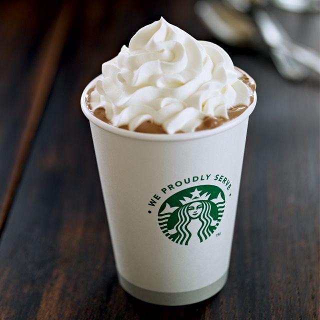 Cách làm Cà Phê Mocha Black and White của Starbucks - Black and White Mocha