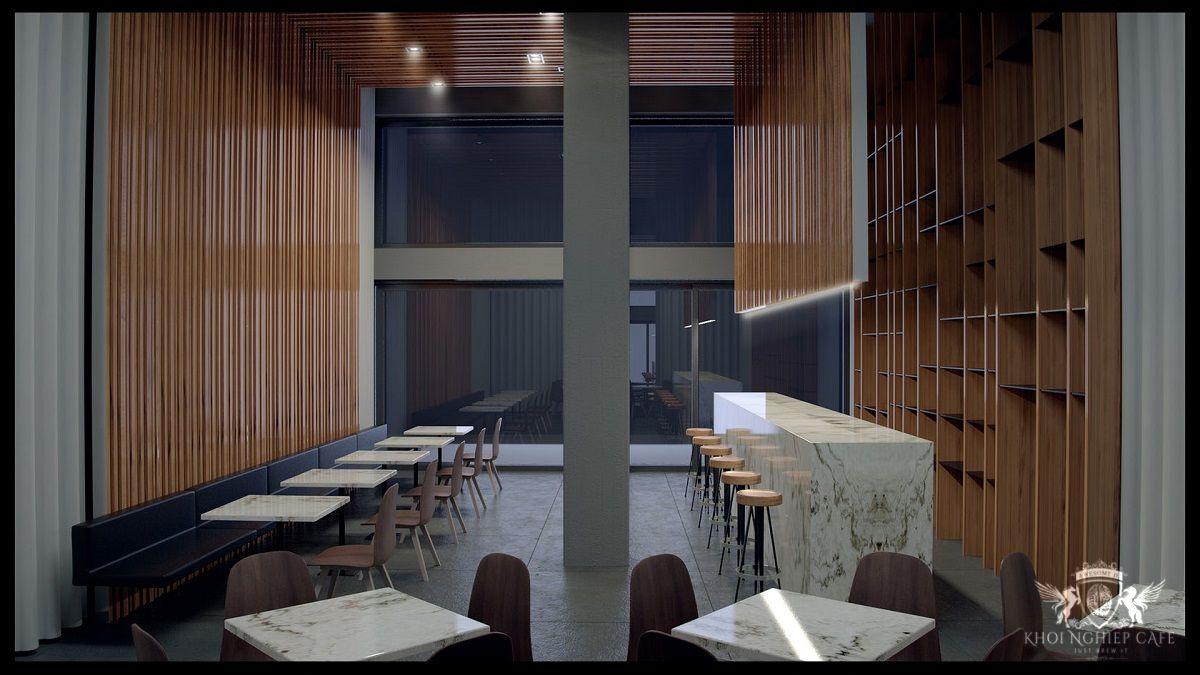 COFFEE SUITE kieu thiet ke quan cafe dep an tuong nam 2018 (3)