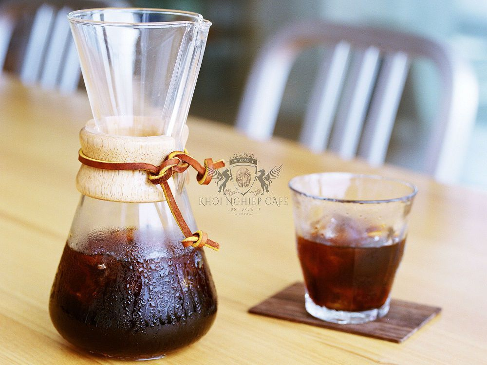 Cold Brew Coffee la gi binh pha ca phe lanh cold brew coffee