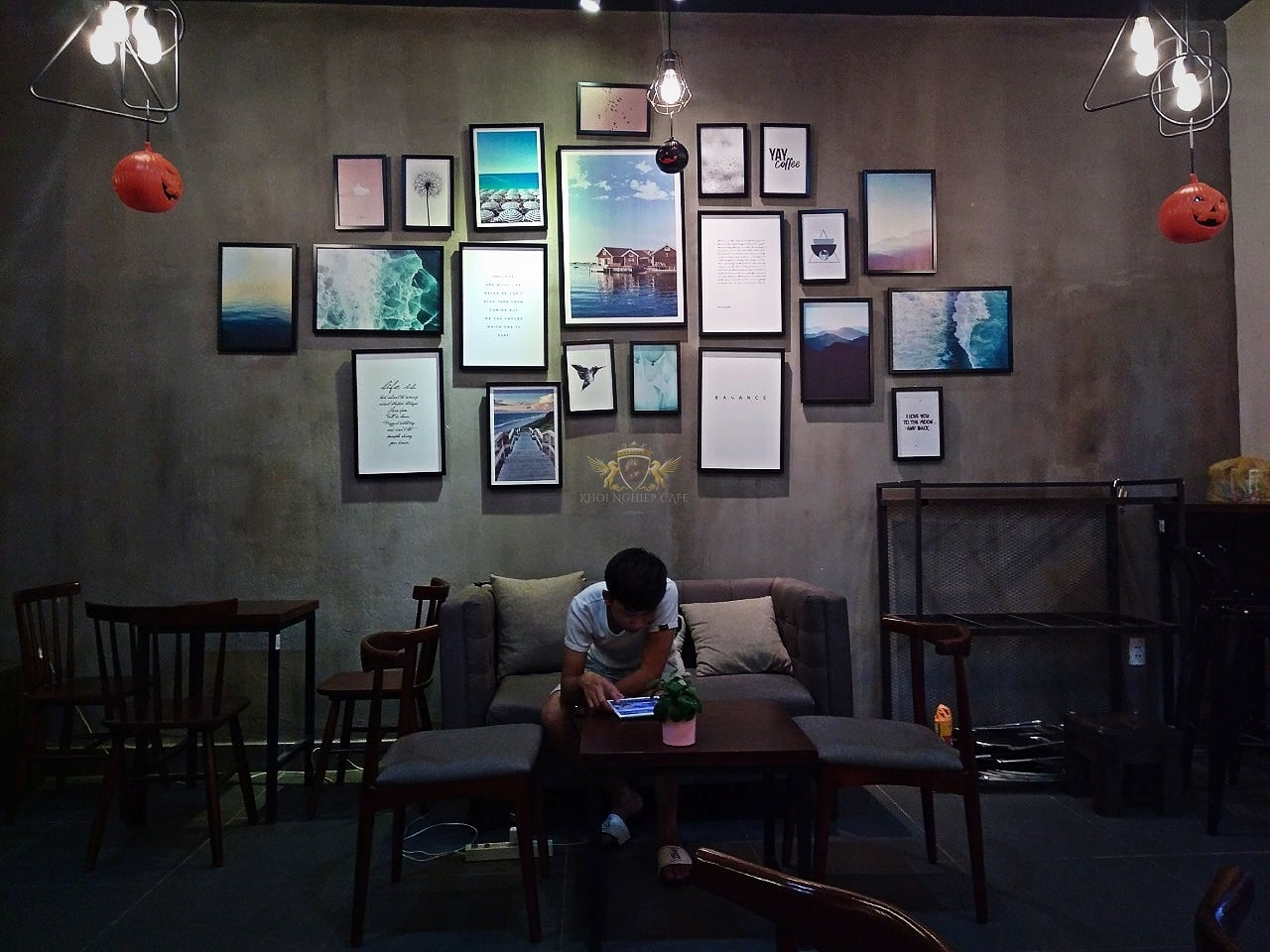 Dom Cafe Go Vap mua ban may pha cafe chuyen nghiep cua y Faema E98 RE A2 HC600 khoi nghiep cafe 16