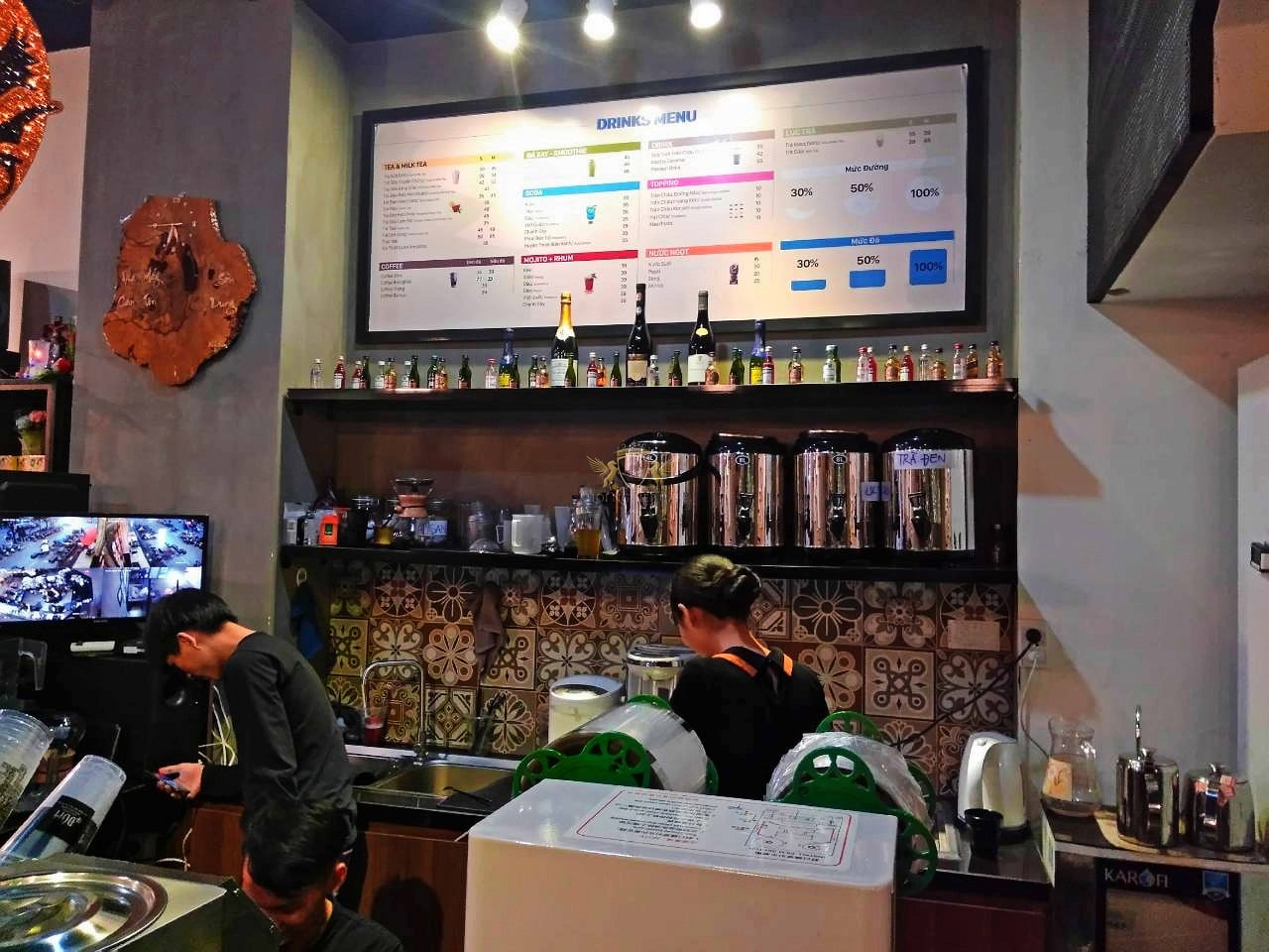 Dom Cafe Go Vap mua ban may pha cafe chuyen nghiep cua y Faema E98 RE A2 HC600 khoi nghiep cafe 2