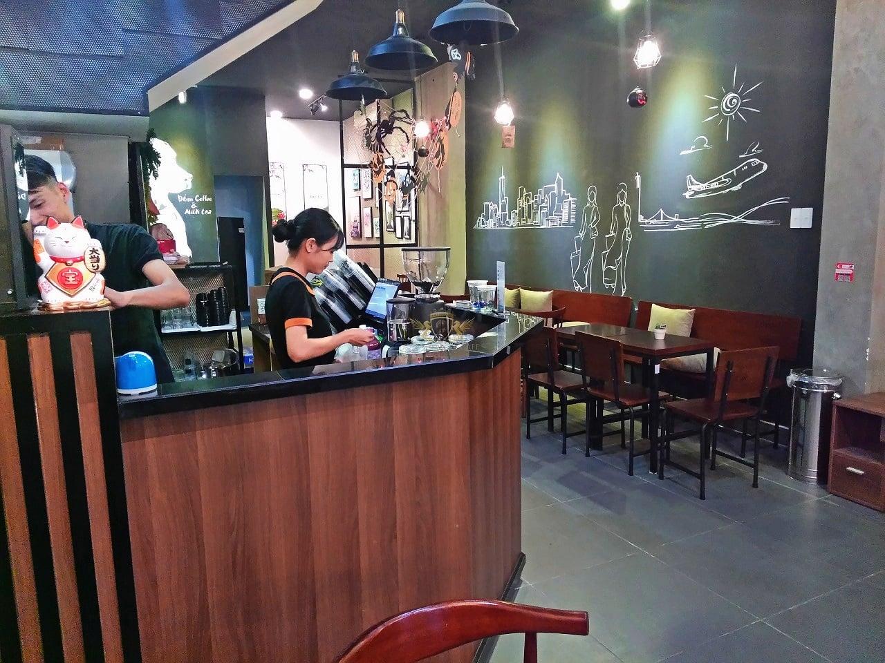 Dom Cafe Go Vap mua ban may pha cafe chuyen nghiep cua y Faema E98 RE A2 HC600 khoi nghiep cafe 9