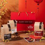 Hop qua tang cafe cao cap Gift Trio 3 1kg 3 goi