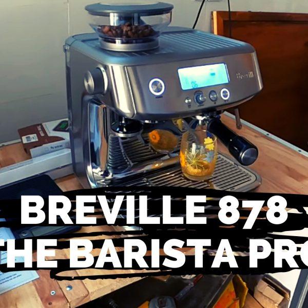 Khởi Nghiệp Cafe lắp đặt máy pha cafe nhỏ Breville 878 the Barista Pro ở Q9, HCM - Khởi Nghiệp Cafe