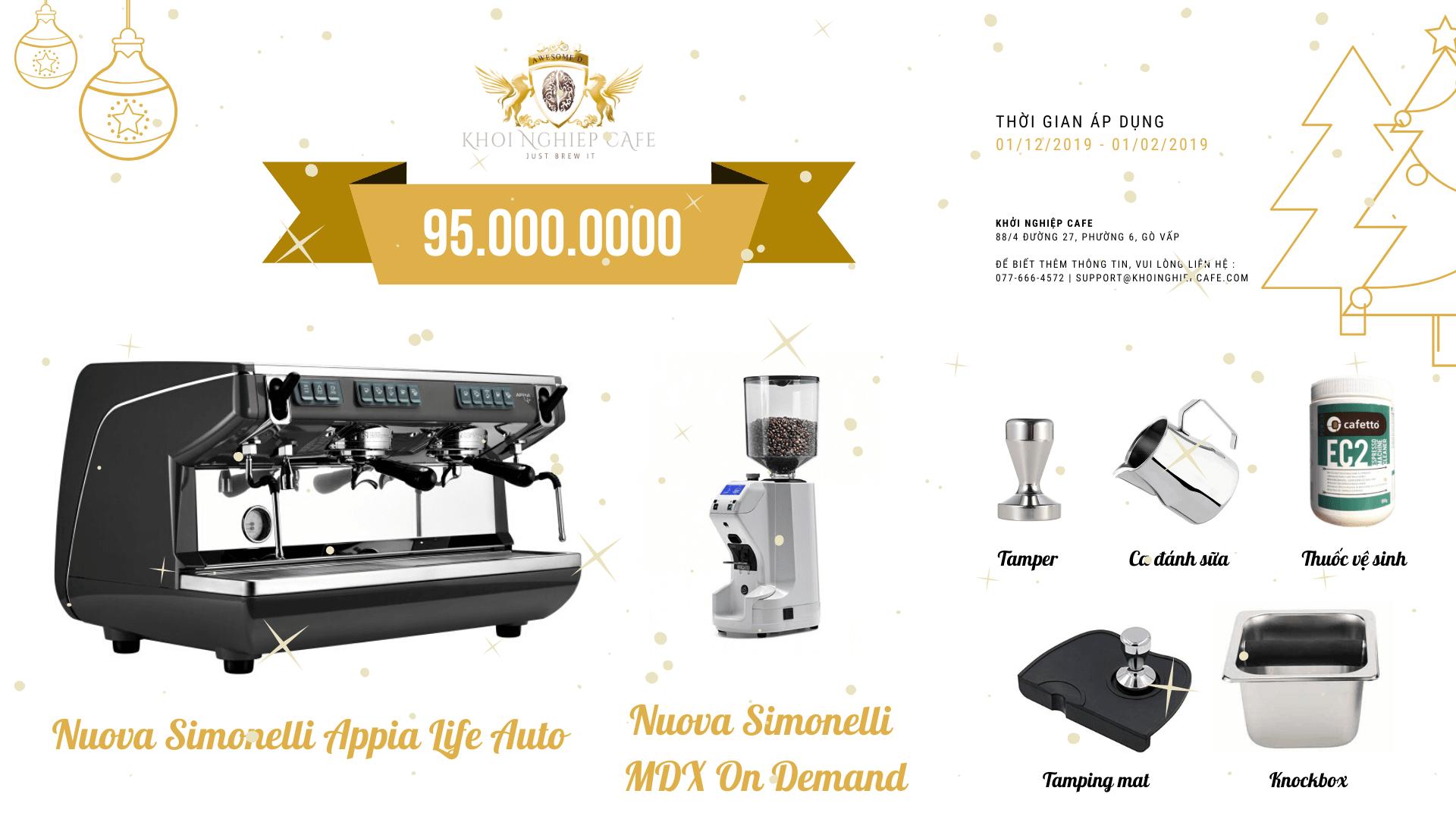 Khoi Nghiep Cafe Khuyen mai Happy New Year 2