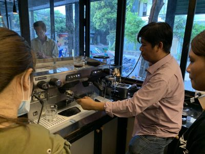 Khoi Nghiep Cafe mua ban may pha cafe chuyen nghiep rancilio classe 5 usb a2 gia re viet nam (2)