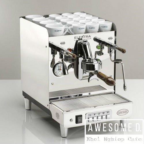 Máy pha cà phê espresso bán tự động