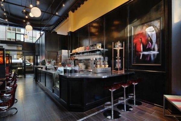 Mavelous Coffee & Wine Bar cach thiet ke bar cafe hien dai sang trong 2018