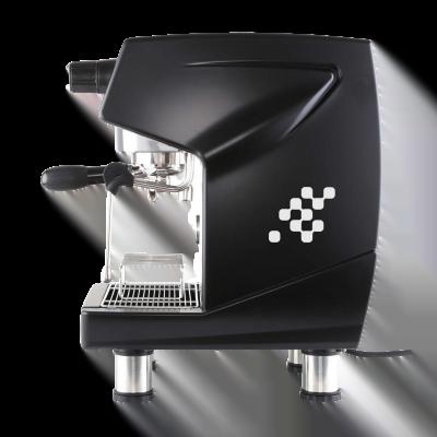 Máy Pha Cafe GEMILAI CRM 3200B Automatic 1 Group đen bên - Hàng Chính Hãng Khởi Nghiệp Cafe