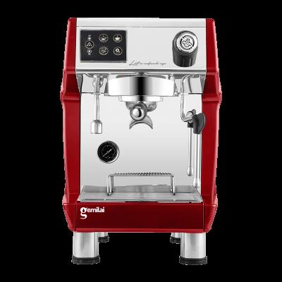 Máy Pha Cafe GEMILAI CRM 3200B Automatic 1 Group đỏ - Hàng Chính Hãng Khởi Nghiệp Cafe