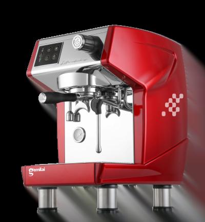Máy Pha Cafe GEMILAI CRM 3200B Automatic 1 Group đỏ hông - Hàng Chính Hãng Khởi Nghiệp Cafe