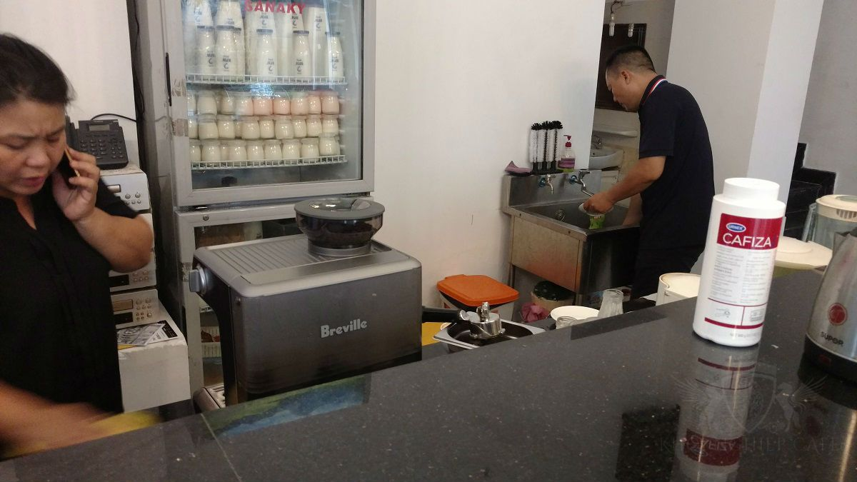 May pha cafe espresso breville 870XL khoi nghiep cafe paul coffee quan 12 hcm 9