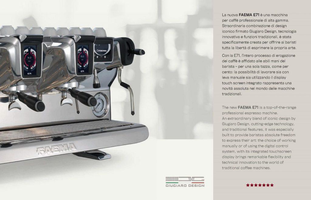 May pha cafe espresso chuyen nghiep italy faema e71 10