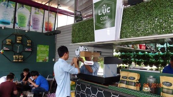 May pha cafe espresso faema e98 a2 may xay cafe hc600 khoi nghiep cafe luc cafe binh thanh hcm