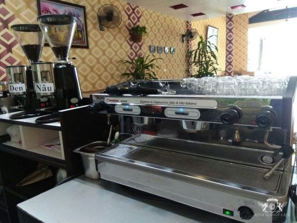 May pha cafe espresso faema e98 s2 may xay cafe hc600 khoi nghiep cafe phu luyen cafe bac can 3