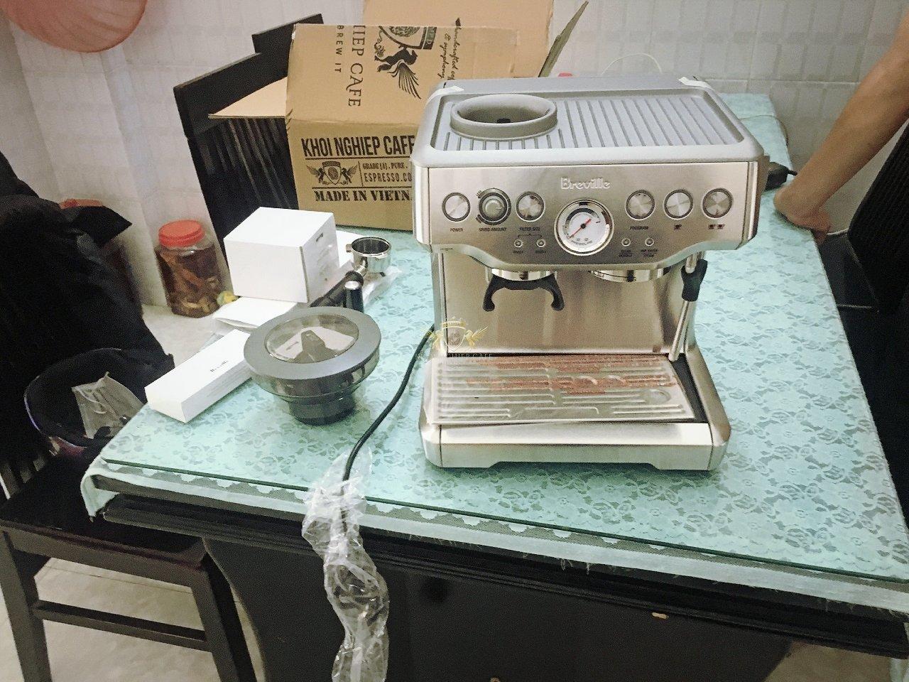 Mua ban may pha cafe nho breville viet nam khoi nghiep cafe quan 5 ho chi minh 2
