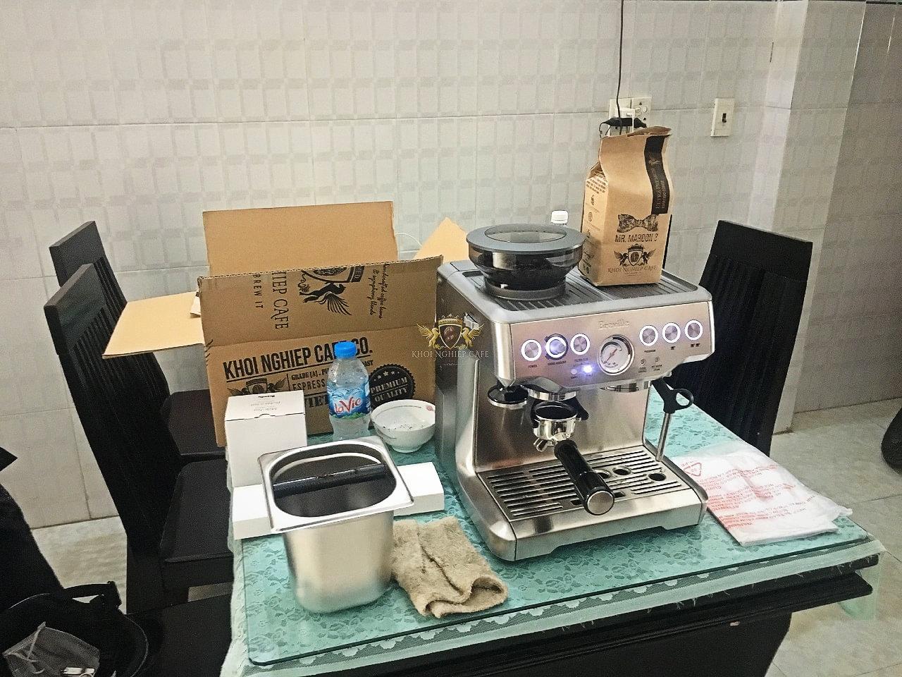 Mua ban may pha cafe nho breville viet nam khoi nghiep cafe quan 5 ho chi minh 5