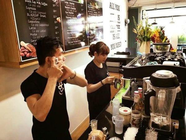May pha cafe espresso faema e98 s2 may xay cafe hc600 khoi nghiep cafe black cup coffee binh duong 2