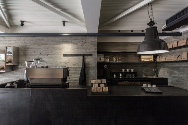 STEPS coffee - mau thiet ke quan cafe espresso dep hien dai 2018