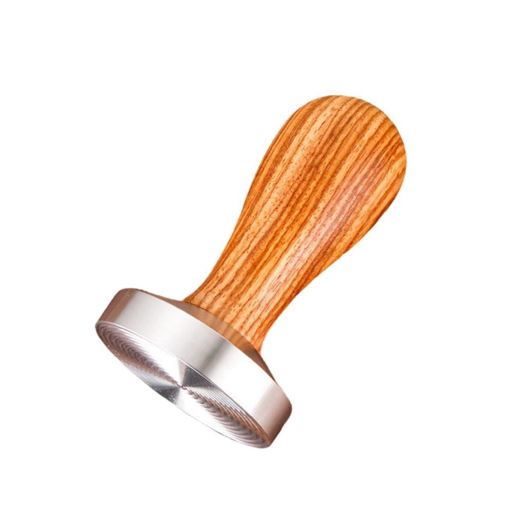 Tamper nén cafe 58 mm Ripple tay cầm gỗ mua bán