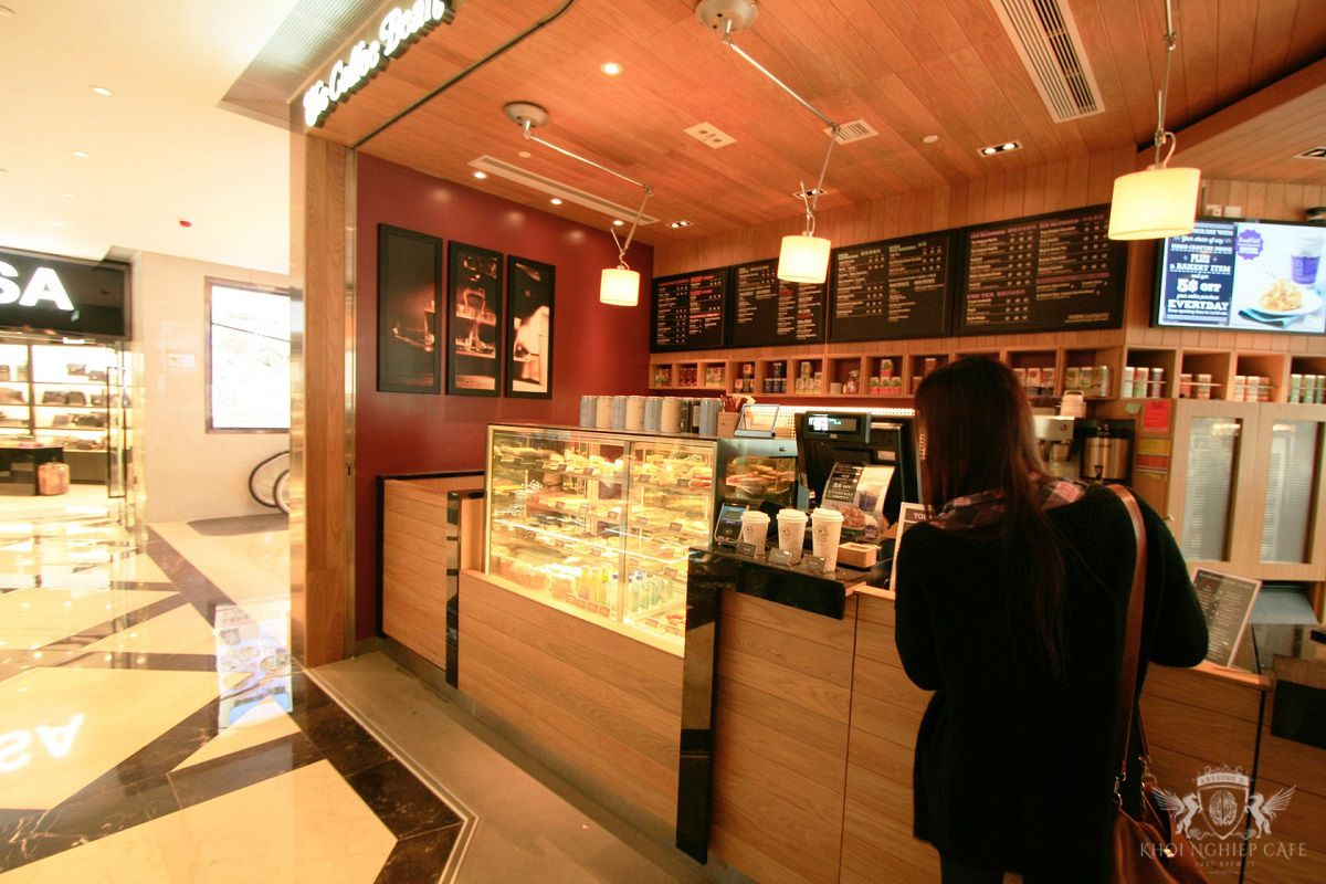The Coffee Bean 7 Tea Leaf Hong Kong 2 thiet ke quan cafe espresso dep 2018 (8)