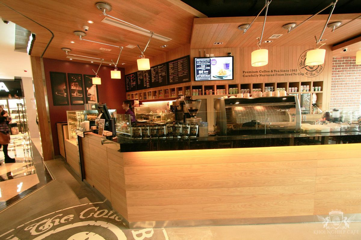 The Coffee Bean 7 Tea Leaf Hong Kong 2 thiet ke quan cafe espresso dep 2018 (9)
