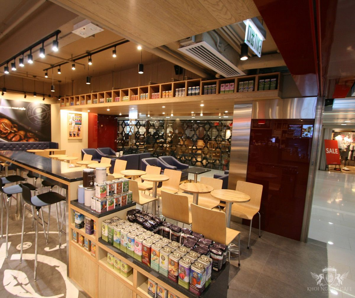 The Coffee Bean & Tea Leaf mau thiet ke quan cafe dep hien dai 2018 (5)