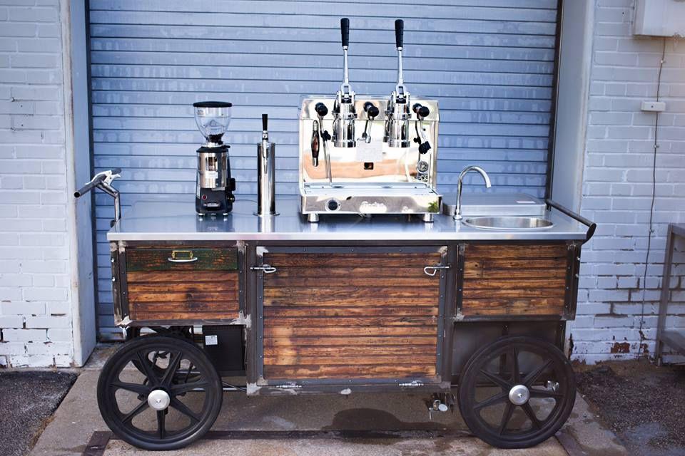 Xe cafe mở quán cafe espresso